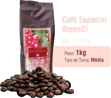 Café Especial Brunelli em Grãos 1Kg