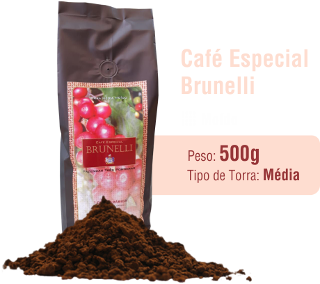 Café Especial Brunelli Moído 500g